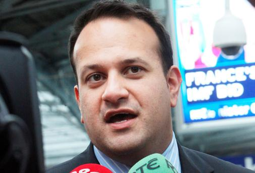 Minister for Transport, Tourism & Sport Leo Varadkar TD. Photo: Gareth Chaney Collins
