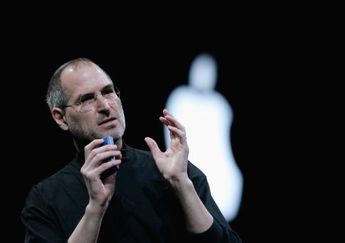 The late Apple co-founder Steve Jobs