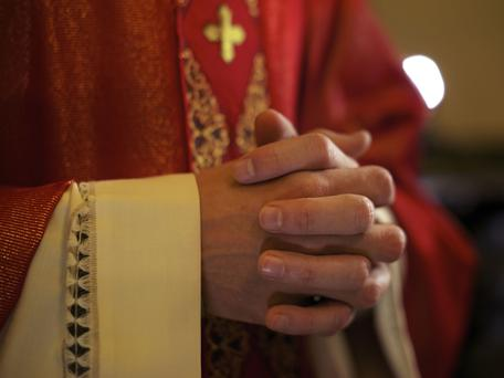 A priest has been arrested by gardai investigating the theft of €500,000 from his order. Picture posed. Thinkstock