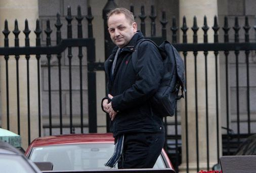 Whistleblower Garda Sgt.Maurice McCabe.Picture: Tom Burke