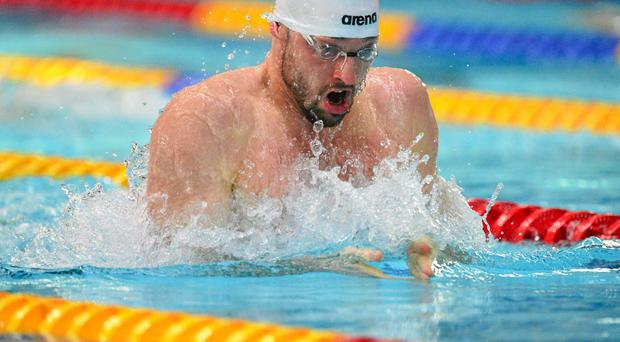 Olympian Barry Murphy is targeting more medals at the European Championships in Berlin this summer