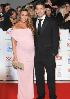 Michelle Heaton and husband Hugh Hanley