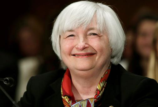 Fed chief Janet Yellen testifies before the Senate Banking Housing and Urban Affairs Committee on Capitol Hill in Washington