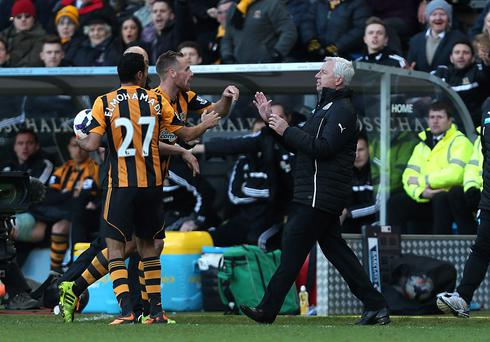 Newcastle United's manager Alan Pardew could face serious consequences for today's outburst on the sideline.