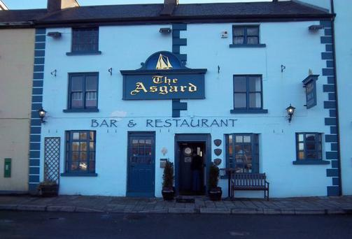 FORCED CLOSURE: The Asgard bar and restaurant in Westport, Co Mayo