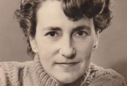 VALIANT WOMAN: Maigread Murphy's home was an 'open house' for cultural visitors