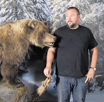 NO, NOT A BEARMAN: Former barman at the Baggot Inn Shane Smith has leaped straight on to the rich list