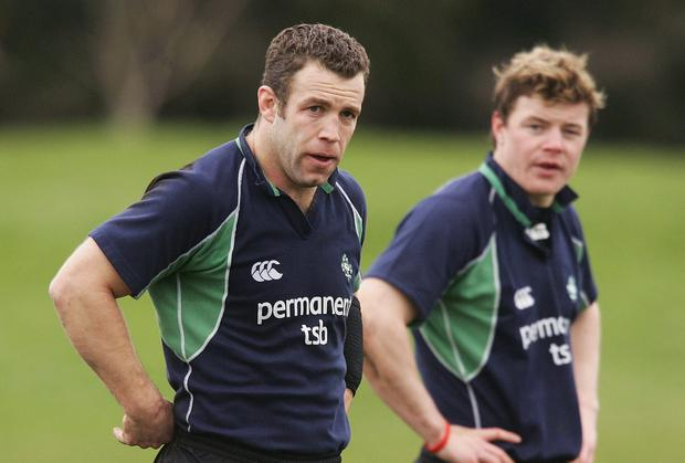 Kevin Maggs was Brian O'Driscoll's first centre partner when the young UCD player broke onto the Ireland team in 1999