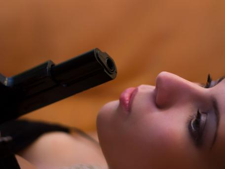 Lenten nights out always beat guns with nuns. Picture posed. Thinkstock