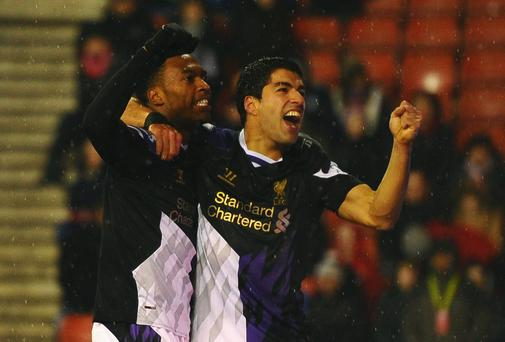 Liverpool have a real chance of winning the Premiership title with players like Luis Suarez and Daniel Sturridge