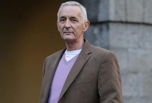 Gerry Collins pictured for the launch of an HSE advert against smoking last December