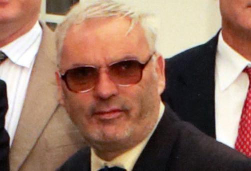 Dermot Corr died as a result of an accident on the track at Sallins and Naas train station on Sunday. Picture: Arthur Carron