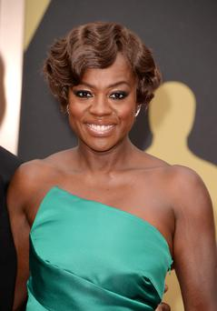 Actress Viola Davis attends the Oscars held at Hollywood & Highland Center on March 2, 2014 in Hollywood, California.