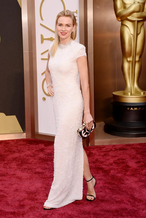 Actress Naomi Watts attends the Oscars held at Hollywood & Highland Center on March 2, 2014 in Hollywood, California. (Photo by Jason Merritt/Getty Images)