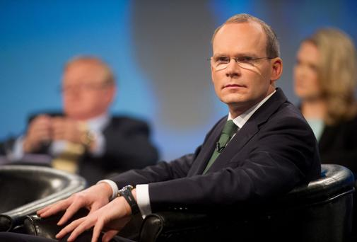 "Simon Coveney tried to blame the rise of Sinn Fein on the fact that they're not asked to ""answer the hard questions"