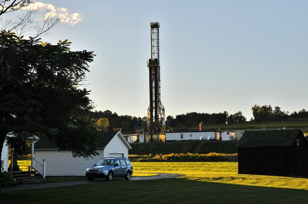 A drill on a farm in Wellsboro. Photo: Tim McBride