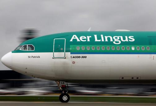 A number of Aer Lingus flights were cancelled yesterday