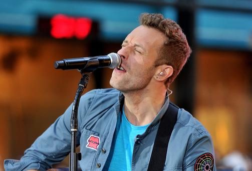 Chris Martin of Coldplay. (Photo by Stephen Lovekin/Getty Images)