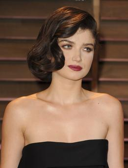 WEST HOLLYWOOD, CA - MARCH 02: Eve Hewson attends the 2014 Vanity Fair Oscar Party hosted by Graydon Carter on March 2, 2014 in West Hollywood, California. (Photo by Jon Kopaloff/FilmMagic)