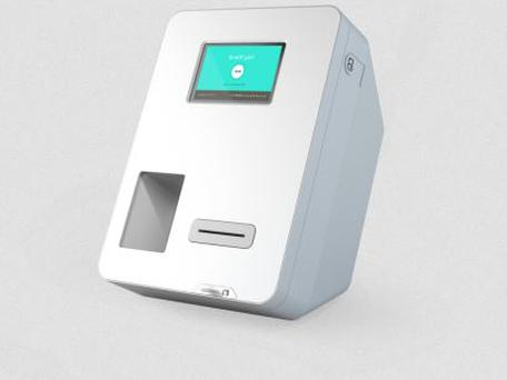 The machine (pictured), made by Bitcoin ATM manufacturer Bitvendo and placed in Hippety's Café in Temple Bar, will accept cash for virtual currency top-ups as interest in Bitcoin continues to grow. (Photo: Bitvendo)
