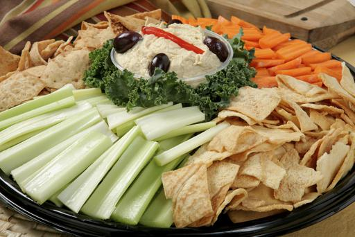 Gerry Duffy was impressed by the healthy food platter on offer in the GAA hall in Longford. Photo: Getty Images.