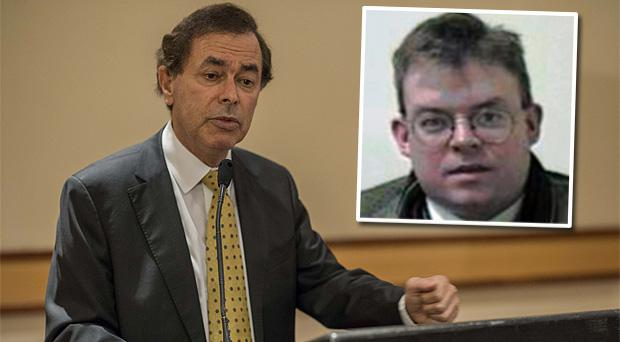 Justice Minister Alan Shatter. Inset: Oliver Connolly