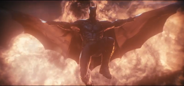 Screenshot for them latest Batman Arkham Knight trailer
