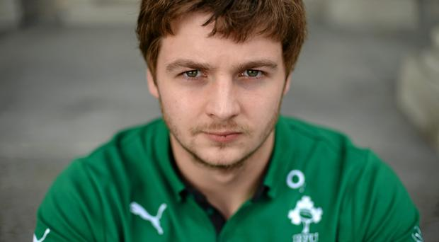 Ireland's Iain Henderson after a press conference ahead of their side's RBS Six Nations Rugby Championship match against Italy