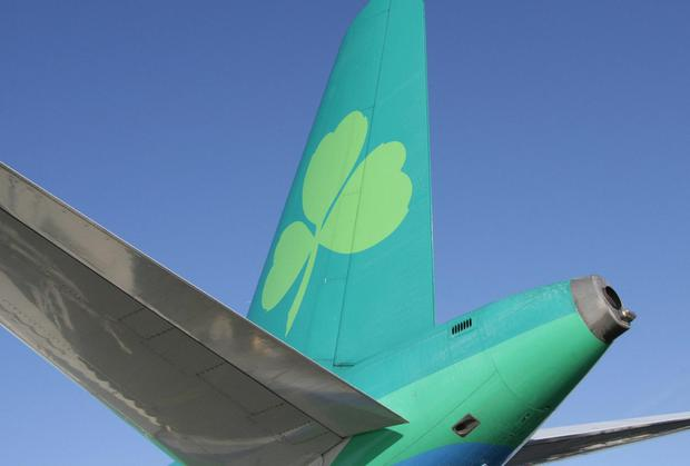 The leaders on the Dublin market included Aer Lingus.