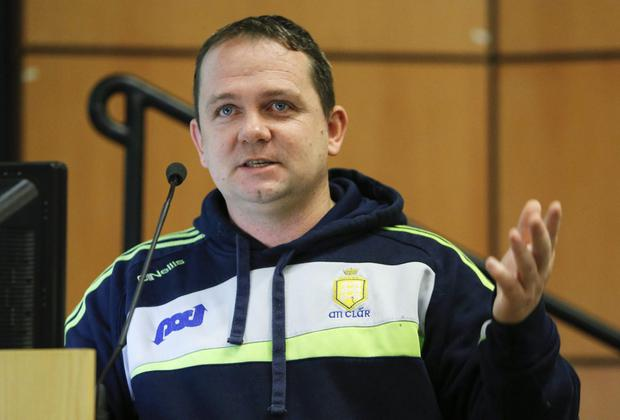 Clare's All-Ireland winning hurling boss Davy Fitzgerald