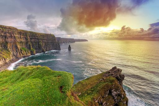 Cliffs of Moher, one of the attractions proving successful with Chinese tourists