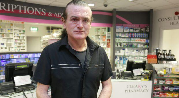 Tadhg Cleary of Cleary's Pharmacy