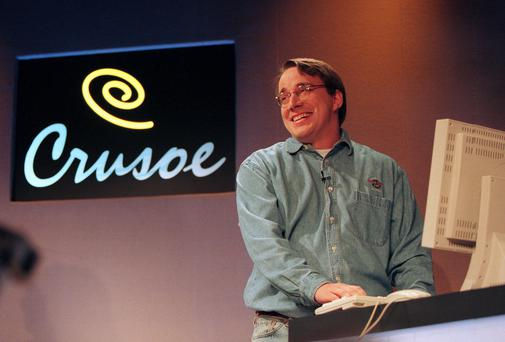 Free: The Linux operating system devised by Linus Torvalds (pictured) is one of the most successful open source software projects.
