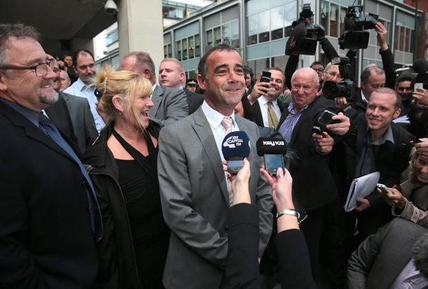 Michael Le Vell was found not guilty at Manchester Crown Court for alleged child sex offences on September 10, 2013