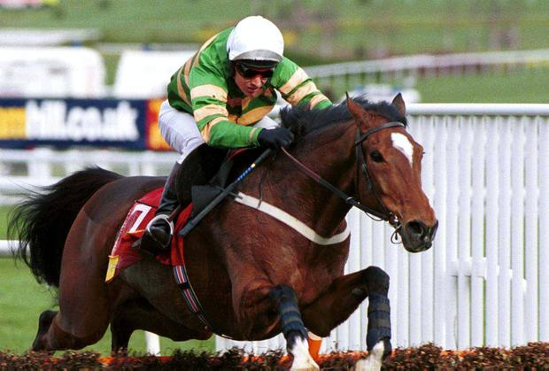 Istabraq with Charlie Swan up