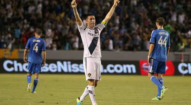 Robbie Keane says he is happy with life in the US.