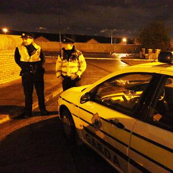 Scene of shooting at Kilshane Road, Finglas March 5