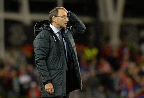 Martin O'Neill will have plenty of food for thought following last night's defeat.