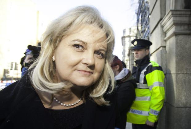 Former Rehab boss Angela Kerins. Recent scandals have hit charity donations. Photo: Collins