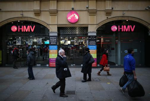 Hilco was involved in the rescue of Xtravision and HMV