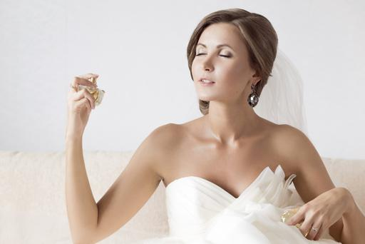 A beautiful scent is a must on your big day. Photo: Getty Images.