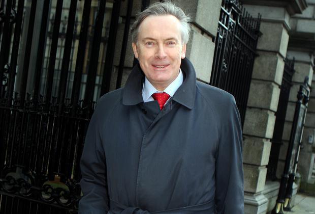 David Cooney said he'd prefer to watch 'Match of the Day' than going to a diplomatic reception. Picture: TOM BURKE