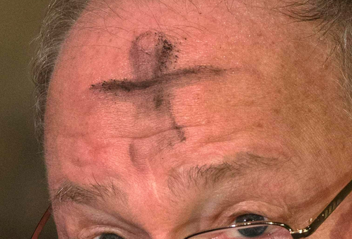 The Ash Wednesday mystery of the burning foreheads has been solved by one of the priests who gave out the ashes