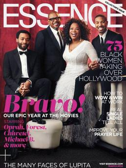 The media mogul wore this dress on the cover of Essence and is gifting a fan with the gown for her wedding day