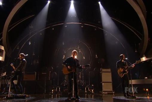 Kodaline blow the crowd away on American Idol (Photo: Youtube)