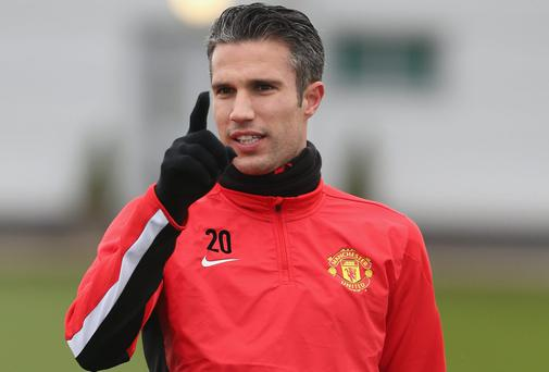 Reports have suggested Robin van Persie has grown increasingly unhappy at Manchester United