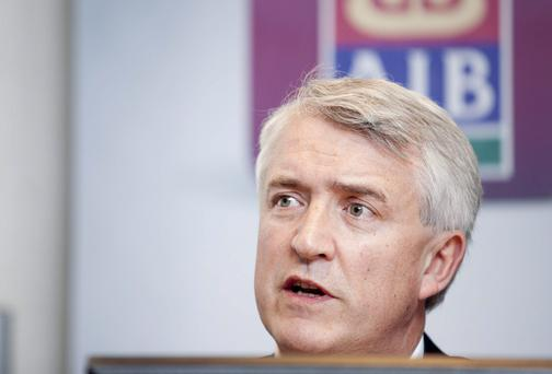 David Duffy, AIB CEO. Photo Chris Bellew / Fennell Photography