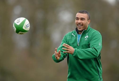 Despite his excellent form for Munster, Simon Zebo has failed to make the Ireland squad