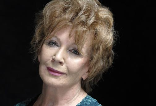 Edna O Brien. Photo by Ulf Andersen/Getty Images