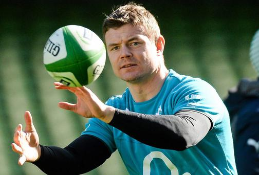 Brian O'Driscoll is already a rugby legend in the mould of Jack Kyle and Mike Gibson
